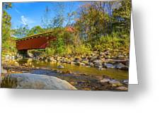 Everett Covered Bridge  Greeting Card