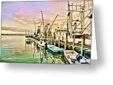 Everett Seafood Greeting Card