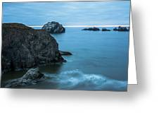 Face Rock Greeting Card
