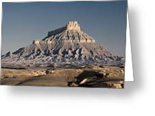 Factory Butte 0562 Greeting Card