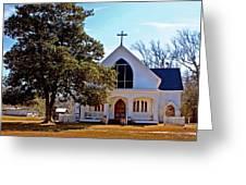 Fairhope Sacred Heart Church Greeting Card