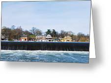 Fairmount Dam - Boathouse Row Greeting Card