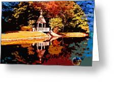 Fall Orbit Greeting Card
