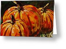 Fall Whisper Greeting Card by Vickie Warner