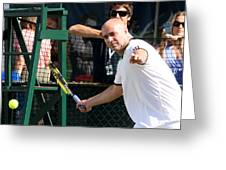 Famous Forehand Greeting Card