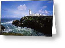 Fanad Lighthouse, Co Donegal, Ireland Greeting Card
