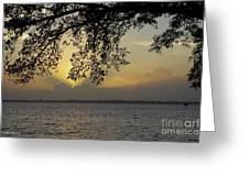 Farewell Sunset Greeting Card