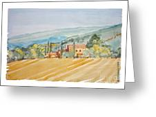 Farm In Provence Greeting Card