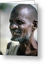 Farmer In Ethiopia Greeting Card