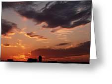Farmer's Sunrise Greeting Card