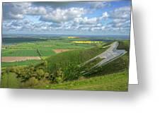 Farmlands. Greeting Card