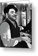 Fats Waller Stormy Weather Set 1943-2015 Greeting Card