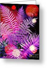 Ferns Greeting Card