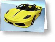 Ferrari 16m Scuderia Spider Greeting Card