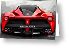 Ferrari La Ferrari  Greeting Card