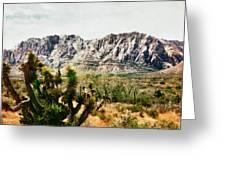 Field Yucca Greeting Card