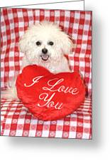 Fifi Loves You Greeting Card