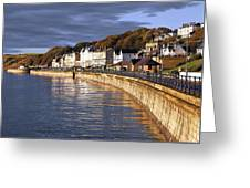 Filey Greeting Card by Svetlana Sewell