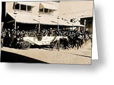 Film Homage Newsreel Cameraman The Great White Hope Set Globe Arizona 1969-2008 Greeting Card