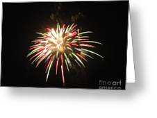 Fireworks Twenty Eleven Viv Greeting Card