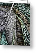 Fish Netting Husavik Iceland 3755 Greeting Card