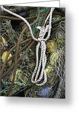 Fish Netting Husavik Iceland 3764 Greeting Card