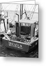 Fishing Boat Idlewild Wellfleet Massachusetts Greeting Card