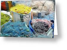 Fishing Industry In Limmasol Greeting Card