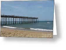 Fishing Pier Greeting Card