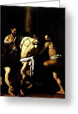 Flagellation Of Christ Greeting Card