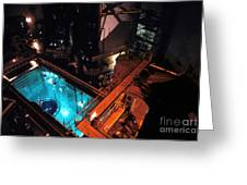 Flamanville Nuclear Power Plant Greeting Card