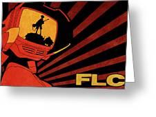 Flcl Greeting Card