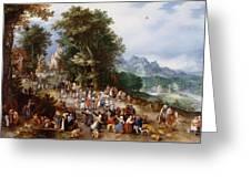 Flemish Fair Greeting Card