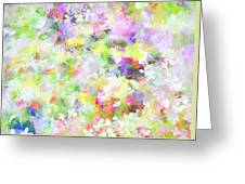 Floral Art Lviii Greeting Card