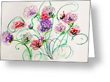 Floral Bunch Greeting Card