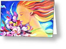 Floral Innocence 2 Greeting Card