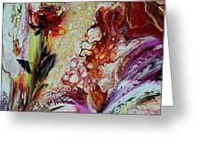Floral  Miracle Greeting Card