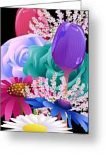 Flowers 6 Greeting Card
