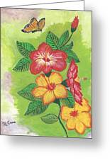 Flowers For My Soul Greeting Card