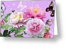 Flowers Image Greeting Card