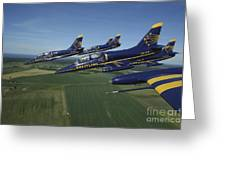 Flying With The Aero L-39 Albatros Greeting Card