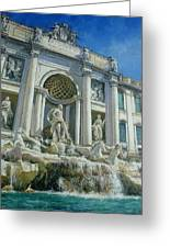 Fontana Di Trevi, Rome Greeting Card
