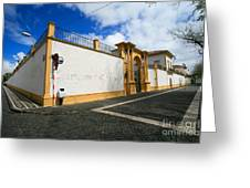 Fonte Bela Palace - Azores Greeting Card
