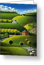 Foothills Of The Berkshires Greeting Card
