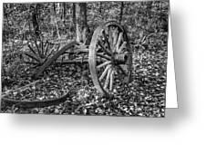 Forgotten Wagon Greeting Card