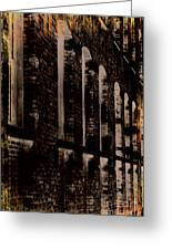 Forlorn Abstraction Greeting Card