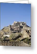 Fort Kumbhalgarh Greeting Card