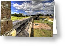 Fort Moultrie Cannon Greeting Card
