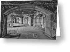 Hall Of Echoes Greeting Card