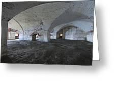 Fort Warren 7124 Greeting Card